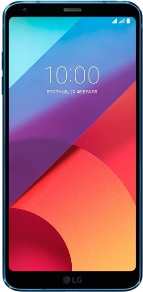 Смартфон LG G6 H870DS 4/64Gb (LGH870DS.ACISUN) синий