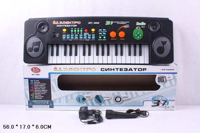 Купить SHANTOU Синтезатор [0886/DT], пластик, Детские музыкальные инструменты