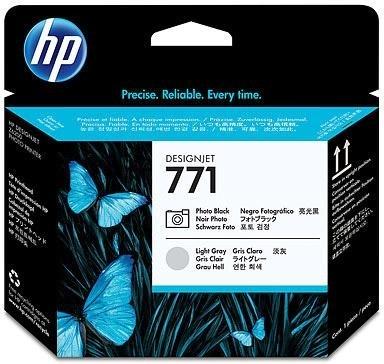 Набор печатающих головок HP 771 Photo Black/Light Grey (CE020A) фото