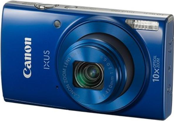 Цифровой фотоаппарат Canon IXUS 190 синий
