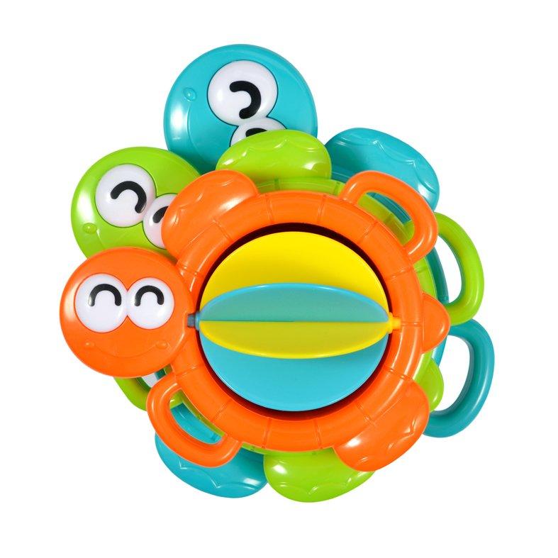 Купить ЖИРАФИКИ Игрушка-мельница для купания Водные черепашки [939556], Жирафики, пластик, Россия, Детские игрушки для ванной