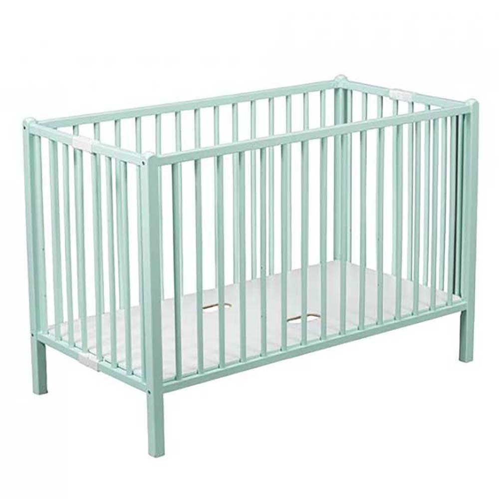 Купить 664, COMBELLE Кровать 120х60 ROMEO 3-х уров. Mint Green / мятно-зеленый, Франция, Кроватки детские