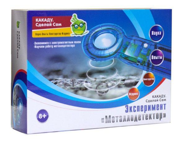 Купить KAKADU Набор сделай сам Эксперимент. Металлодетектор [ELEK-D019], Детские наборы для исследований