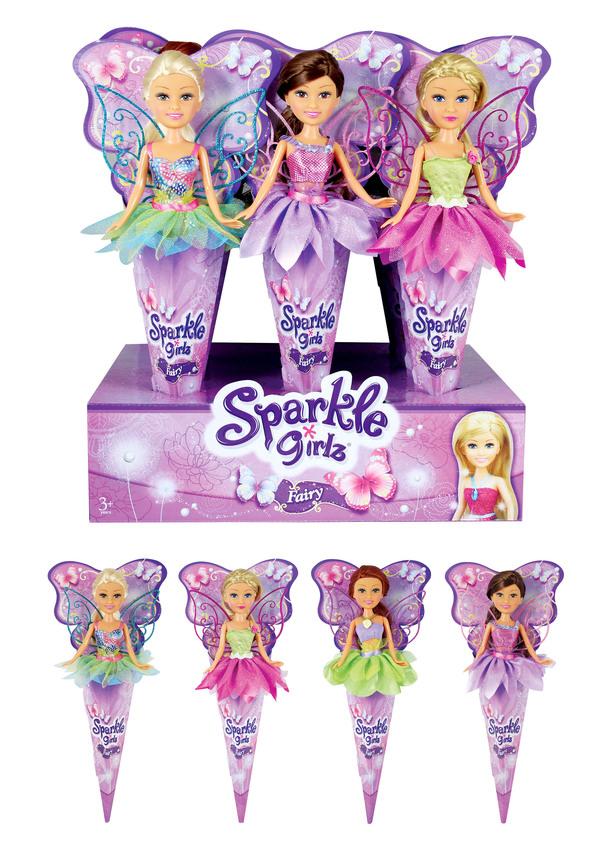 Купить FUNVILLE Кукла Фея [24110], пластик, Текстиль, Для девочек, Китай, Куклы и пупсы