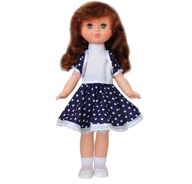 Купить ПЛАСТМАСТЕР Кукла Вика [10101], белый, синий, пластик, ПВХ, Текстиль, Куклы и пупсы
