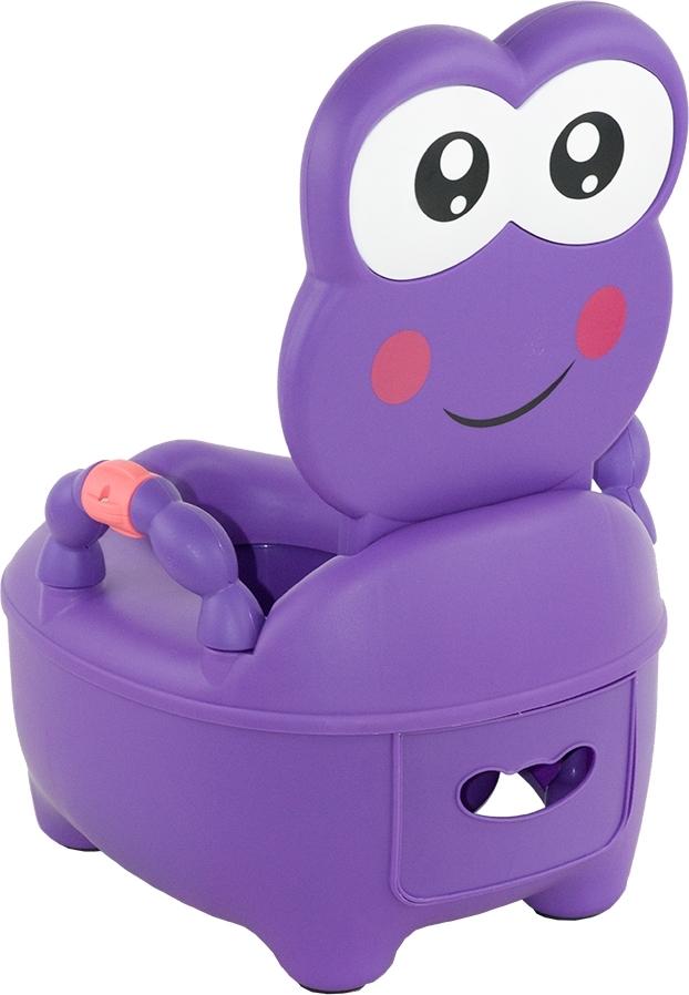 Купить PITUSO Детский горшок ЛЯГУШОНОК Фиолетовый PURPLE 36, 5x31, 5x46 см [1715], Горшки и детские сиденья на унитаз