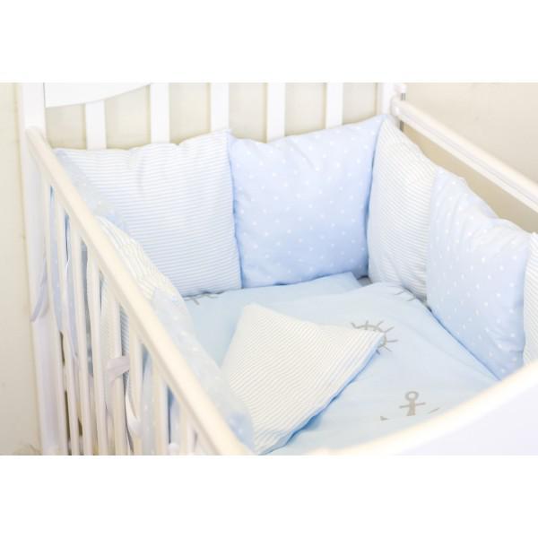 Купить 12360180, ByTWINZ Комплект постельного белья 3 предмета Бриз [КПБ3-БРИЗ], Постельное белье для малышей