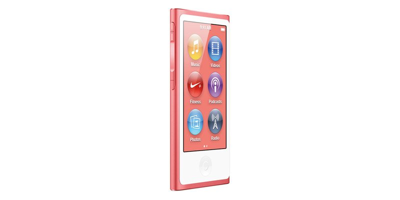 Плеер Apple iPod nano 16GB - Pink MD475