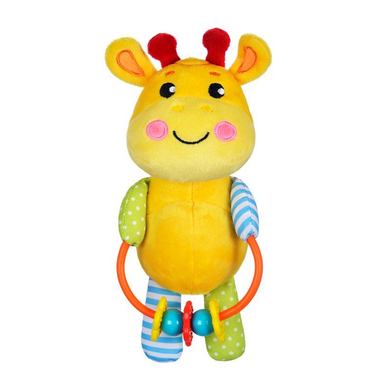 Купить ЖИРАФИКИ Развивающая игрушка с погремушками Жирафик [939525], Жирафики, пластик, Текстиль, наполнитель, Погремушки и прорезыватели
