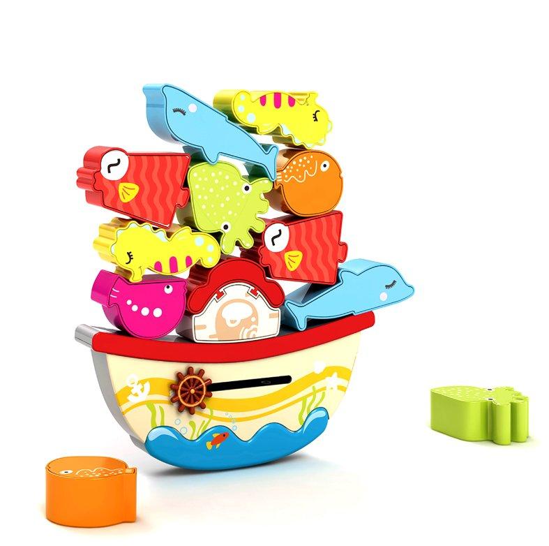 Купить ЖИРАФИКИ Игра-баланс Морской мир [939500], Жирафики, Россия, Сортеры для малышей