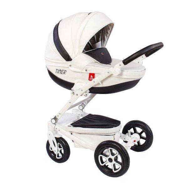 Купить TUTEK Детская коляска Timer Eco 2B/B , 3 в 1 [УТ-0002454NTMECO2B/B], пластик, Металл, Текстиль, Детские коляски