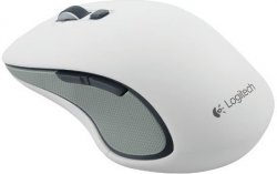 Мышь Logitech Wireless Mouse M560 White USB 910-003913