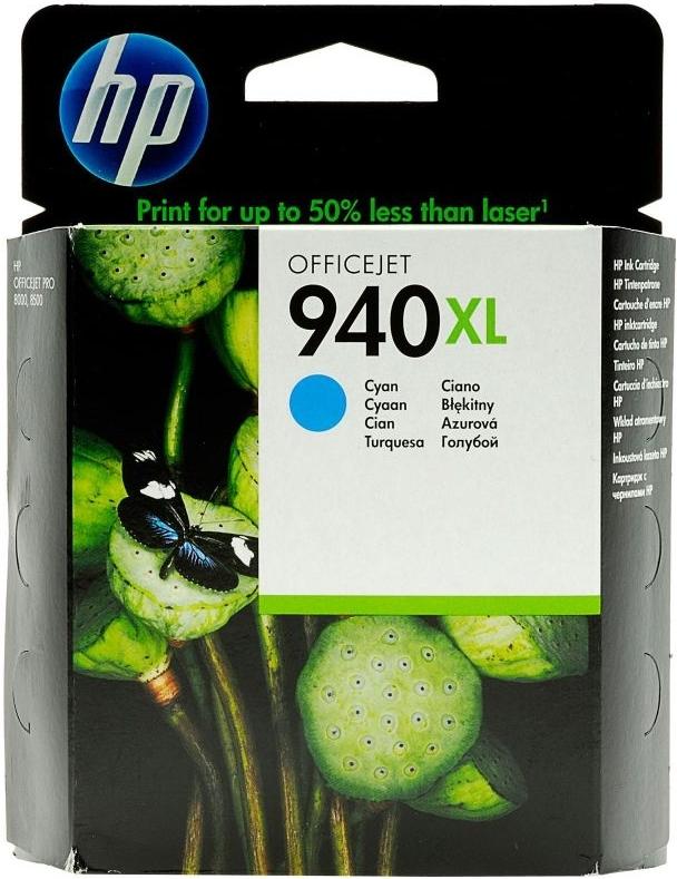 Струйный картридж HP 940 XL Cyan (C4907AE) фото
