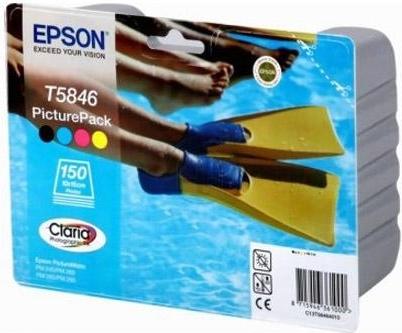 Купить Набор для фотопечати Epson T5846 (C13T58464010), Набор цветов, Китай