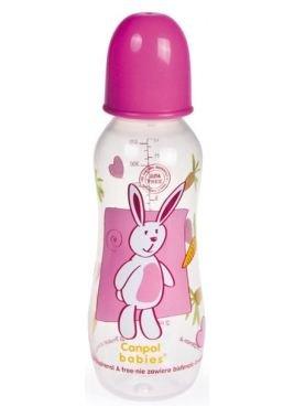 Купить CANPOL Бутылочка пластиковая (330 мл) [59/205], Силикон, полипропилен, Бутылочки и ниблеры для малышей