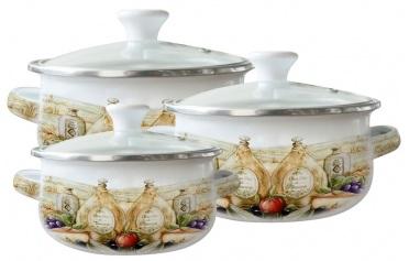 Набор посуды ZEIDAN Z-80611-04,  6 предметов
