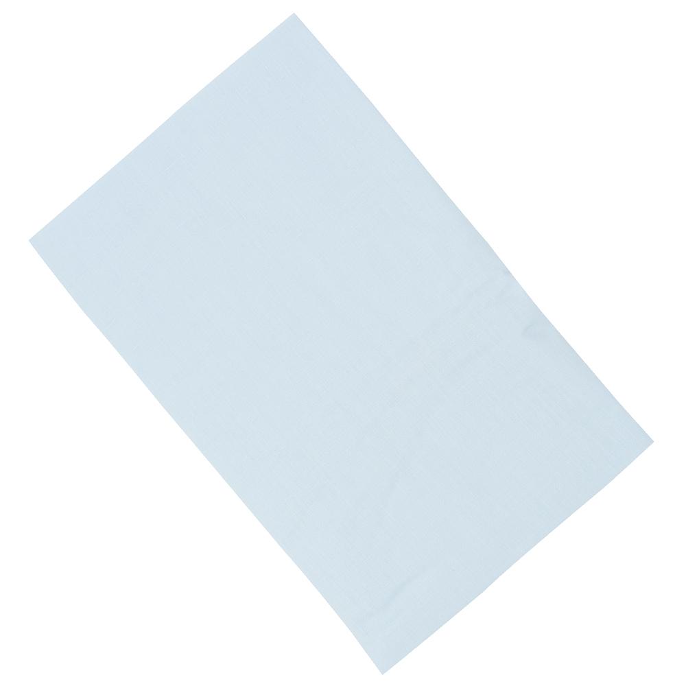 Купить INTER BABY Простыня POPELIN 100% ALG BLUE, голубая, 60x120 см [825-01], Италия, Постельное белье для малышей
