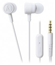 Гарнитура Audio-Technica ATH-CKL220iS White