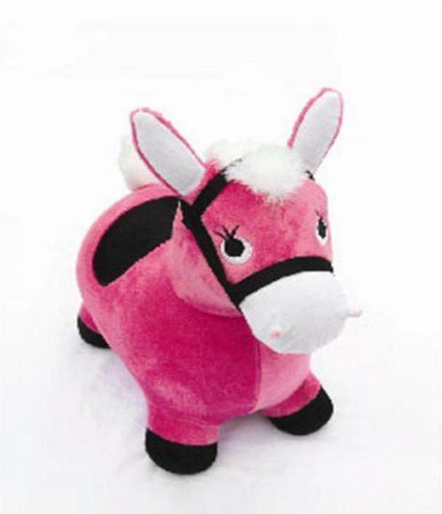 Купить НАША ИГРУШКА Игрушка Лошадка-попрыгунчик (розовый) [63798], Наша игрушка, Розовый, Детские мячи и прыгуны