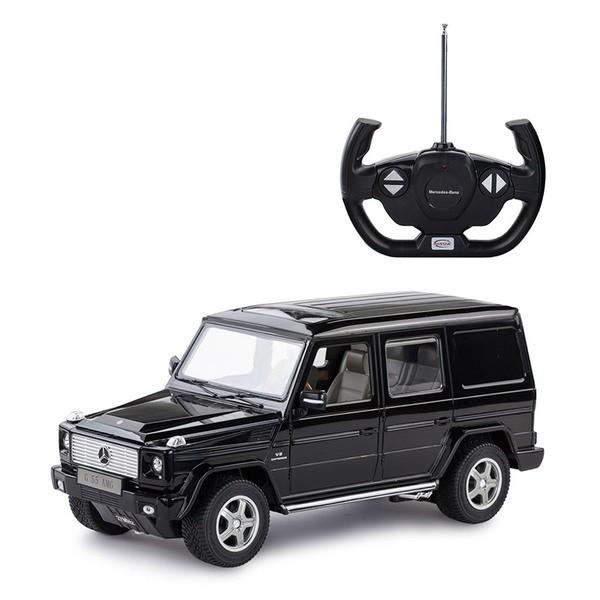 Купить Машина р/у 1:14 Mercedes G55 AMG Цвет Черный [30400B], Rastar, Игрушки на радиоуправлении