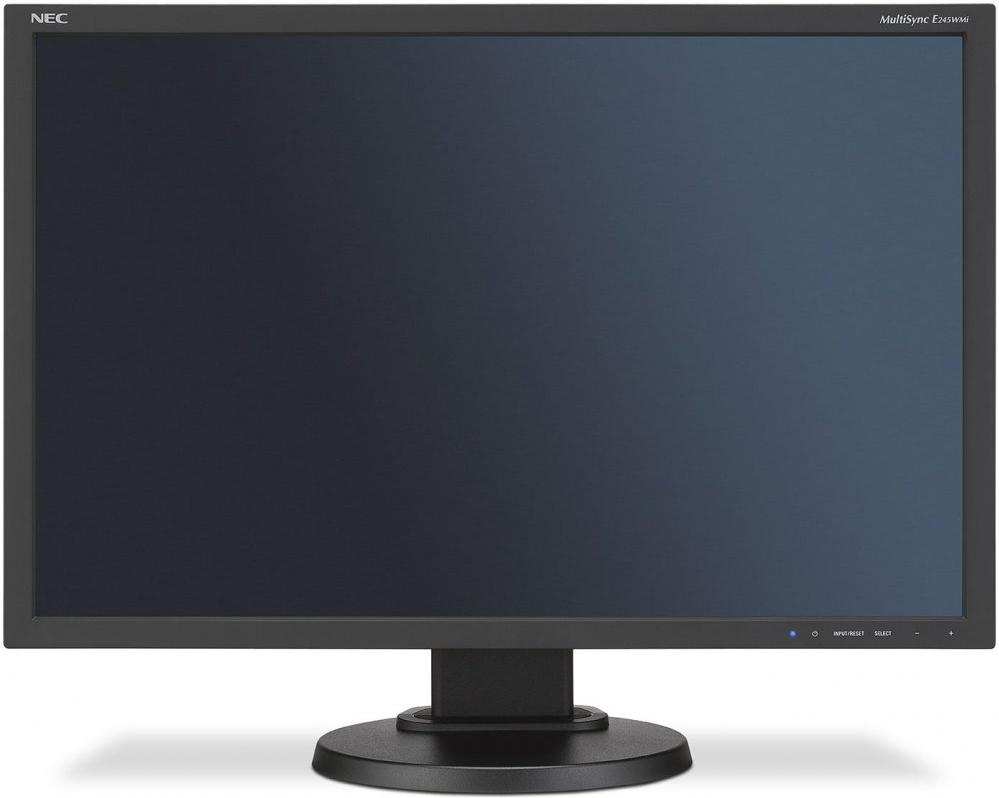 Купить Монитор NEC 24 MultiSync E245WMi Black, Черный, Китай