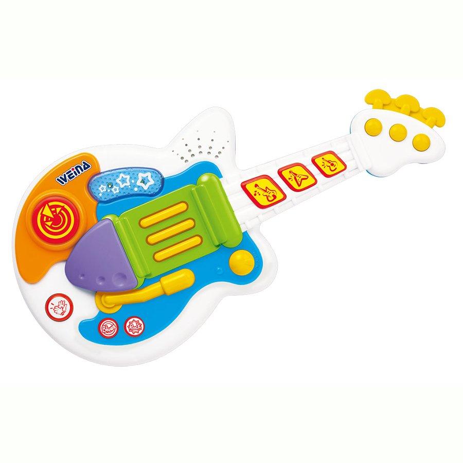 Купить WEINA Развивающая игрушка музыкальная ГИТАРА [2099], Китай, Развивающие игрушки для малышей