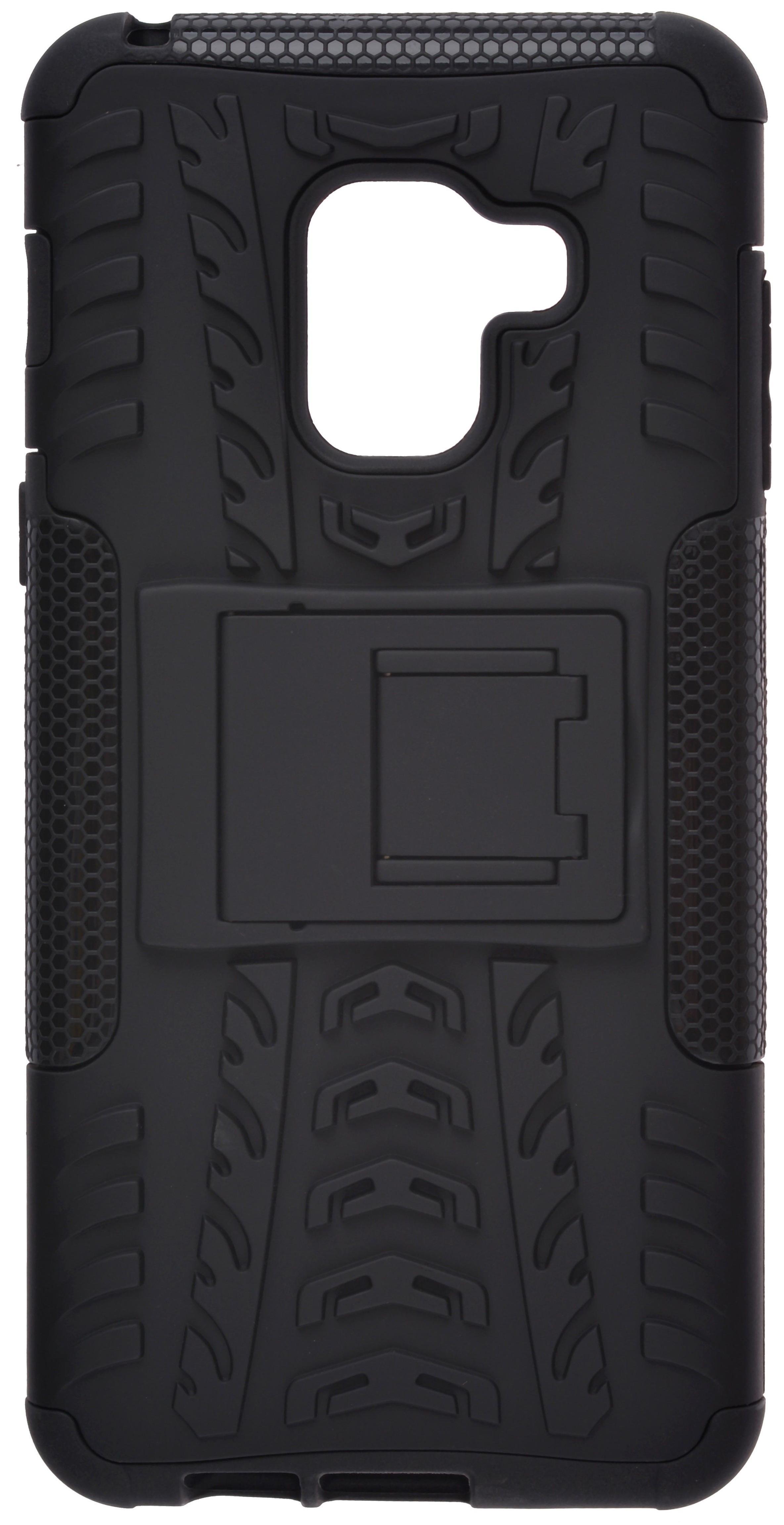 Чехол-накладка skinBOX Defender case для Samsung Galaxy A8 (2018) T-S-SGA82018-06 (4630042520639) Черный Defender case T-S-SGA82018-06 (4630042520639) фото