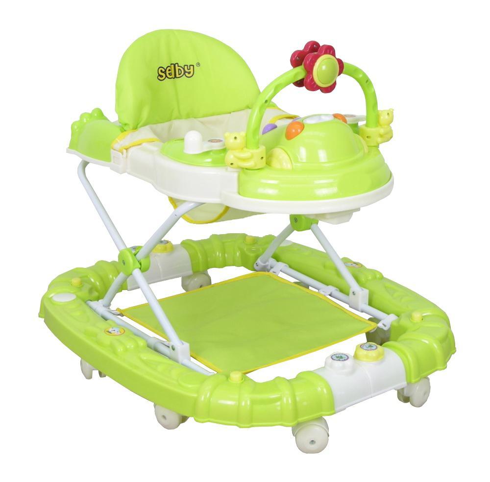 Купить 12360111, SELBY Ходунки Bs-229 -3 зеленый [1323], Ходунки и прыгунки для малышей