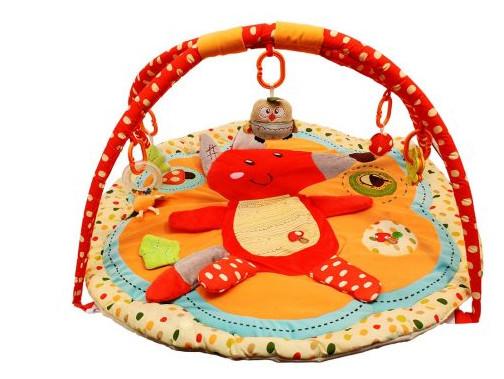 Купить ROXY Развивающий игровой коврик с дугами Лисичка и ее друзья [RPM-3311С], Развивающие коврики для малышей