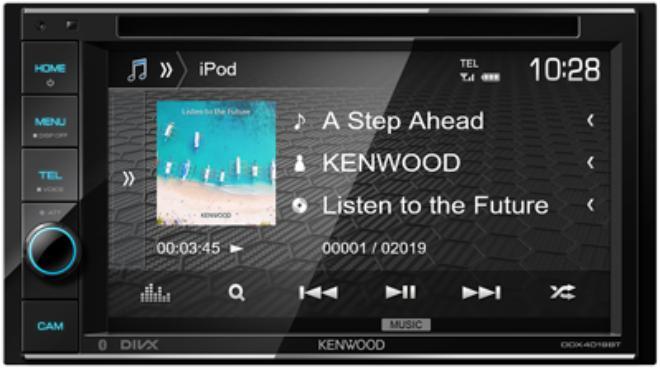 Автомагнитола Kenwood DDX-4019BTR фото