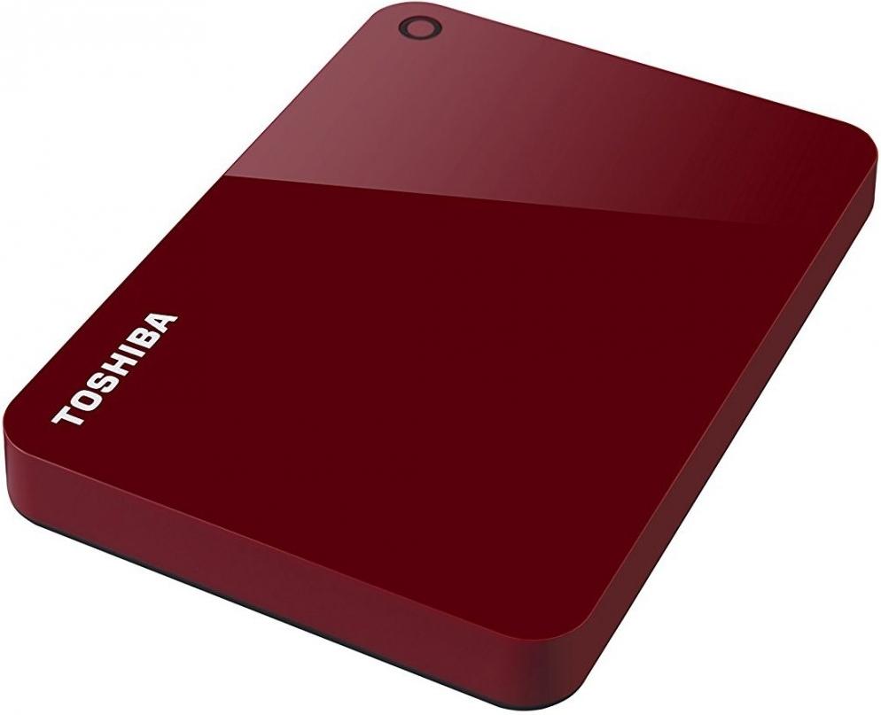 Купить Внешний жесткий диск 2Tb Toshiba Canvio Advance Red (HDTC920ER3AA), HDD
