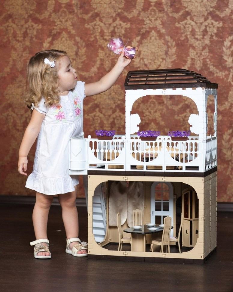 Купить ОГОНЕК Дом Коллекция [С-1293], Огонек, пластик, Для девочек, Россия, Кукольные домики