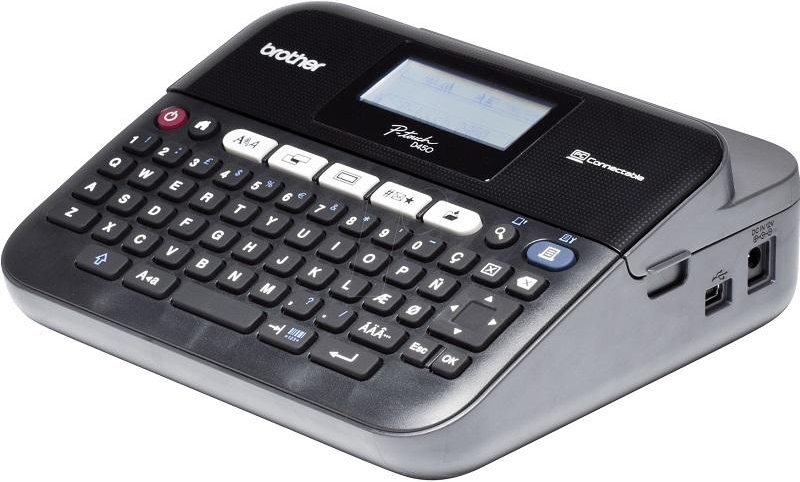 Монохромный матричный принтер для наклеек Brother PTD450VPR1