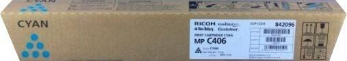 Тонер-картридж Ricoh MP C406 Cyan (842096) фото