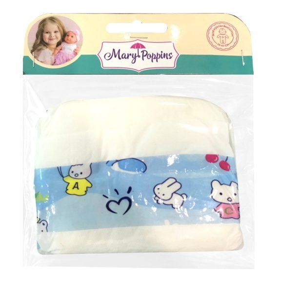 Купить MARY POPPINS Набор памперсов для куклы 38-43 см, 3 штуки, Аксессуары для кукол