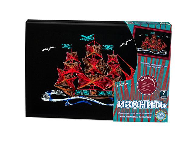 Купить DANKO TOYS Набор креативного творчества Изонить , набор 10 [IZN-01-05], Украина, Товары для изготовления кукол и игрушек