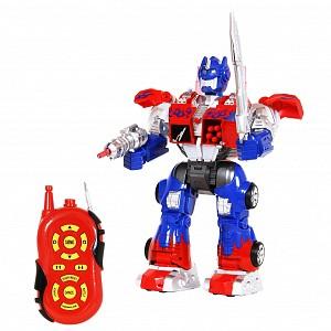 Купить НАША ИГРУШКА Робот р/у, 36 см, свет, звук, стреляет, эл.пит.не вх.в компл. [6020], Пластик, металл, Игрушечные роботы и трансформеры