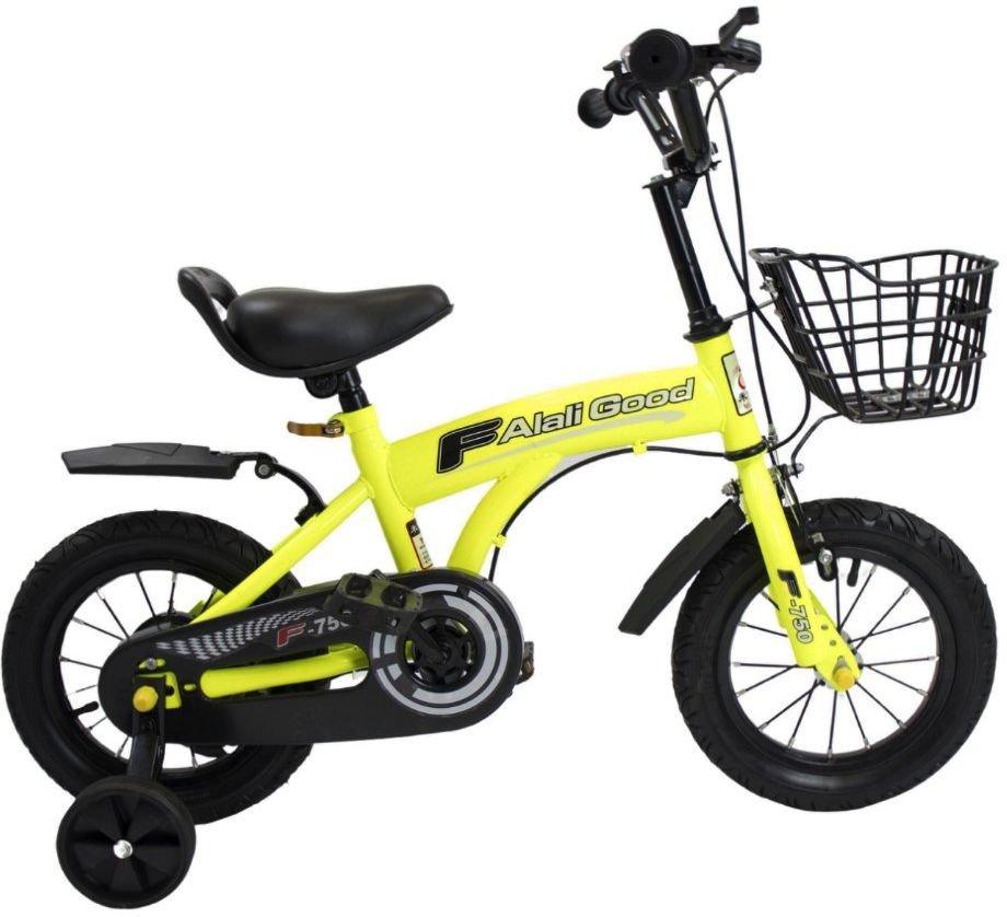 Двухколесный велосипед F Alali Good V-12 желтый