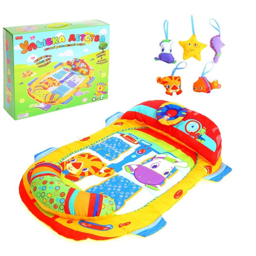 Купить ZHORYA Игровой коврик Улыбка детства [ZY374614], Развивающие коврики для малышей